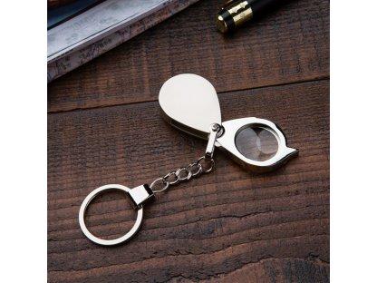 Přívěsek na klíče - lupa