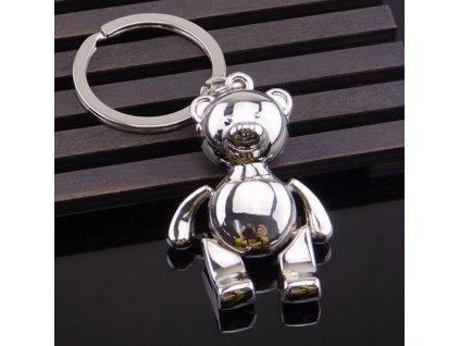 Přívěsek na klíče - medvídek