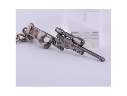 Přívěsek na klíče - puška
