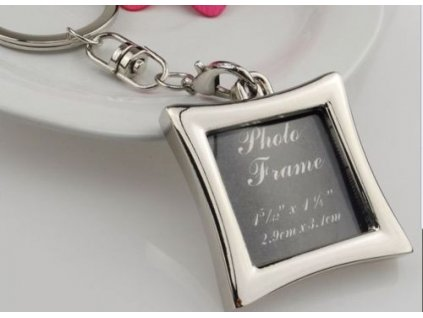Přívěsek na klíče - rámeček na fotku