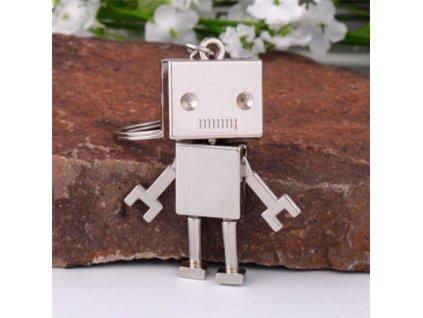 Přívěsek na klíče - robot