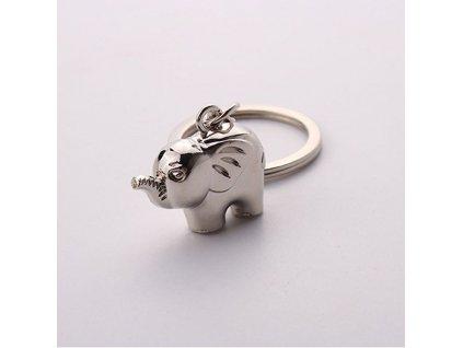 Přívěsek na klíče - Slon