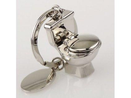 Přívěsek na klíče - toaleta
