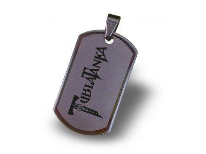 Přívěsek z nerez oceli s Vaším motivem včetně řetízku