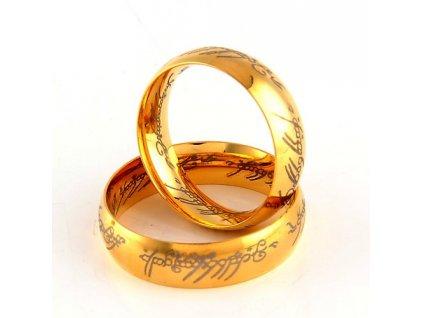 """Prsten """"MILÁŠEK"""" z filmu Pán prstenů"""