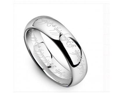 "Prsten ""MILÁŠEK"" z filmu Pán prstenů - barva stříbrná"