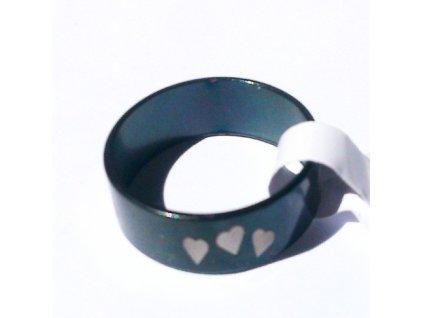 Prsten R-052 se srdíčky