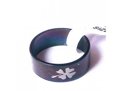 Prsten R-053 se čtyřlístkem