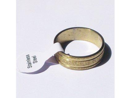 Prsten R-063 s proužky