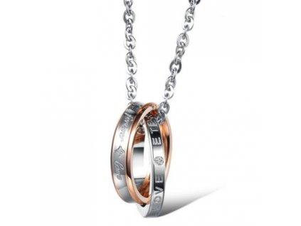 Prsteny včetně řetízku 2
