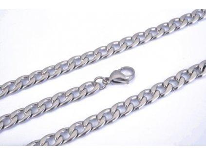 Řetízek z chirurgické oceli - 3 mm, délka 55 cm 2