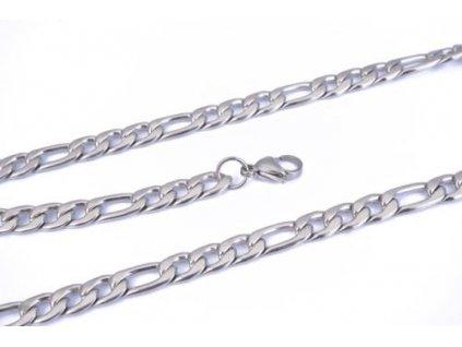 Řetízek z chirurgické oceli - 5 mm, délka 55 cm