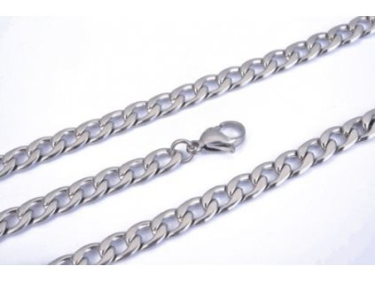 Řetízek z chirurgické oceli - 8.5 mm, délka 63.5 cm