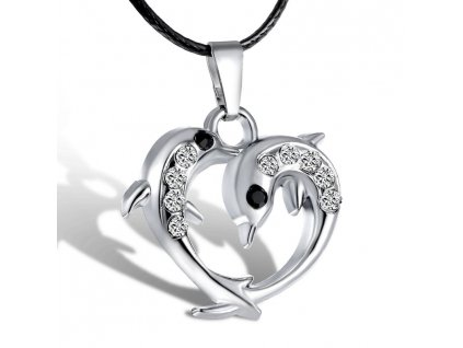 Srdce - delfín