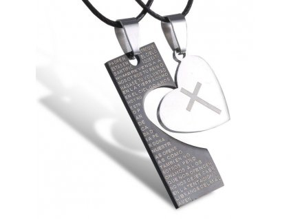 Srdce - destička - pro dva