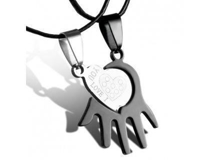 Srdce ruka - pro dva