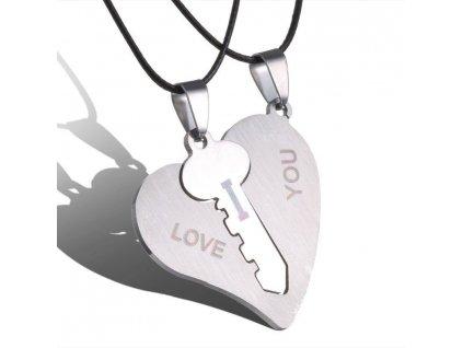Srdce s klíčem - pro dva