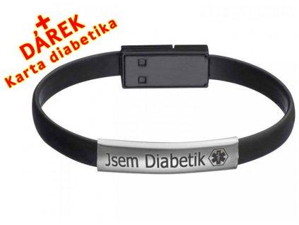 USB Náramek pro moderního diabetika CZ