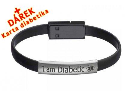 USB Náramek pro moderního diabetika EN