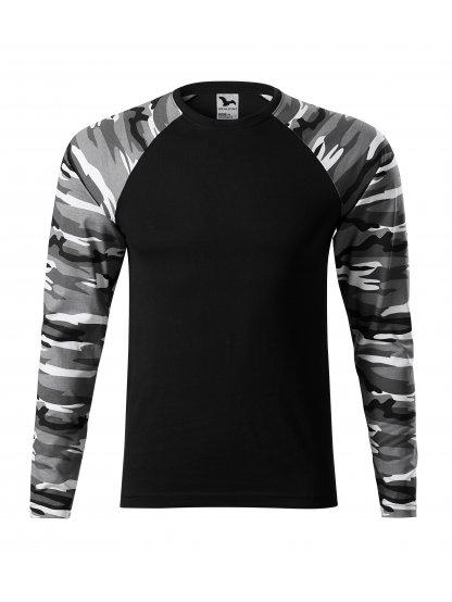 Pánské tričko Camouflage LS