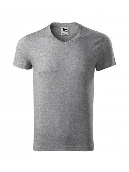Pánské tričko Slim FIT V-NECK