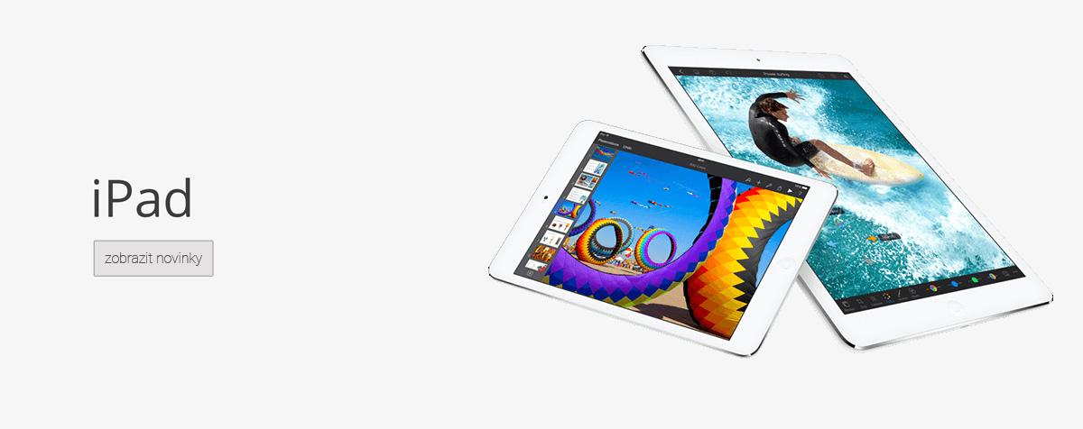 iPad novinky