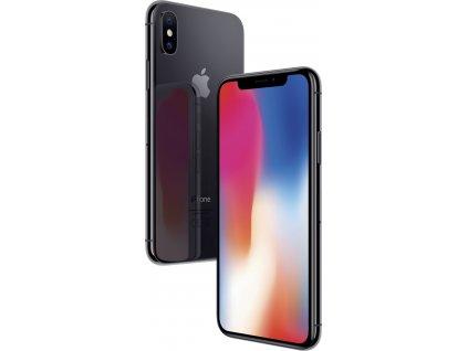 Apple iPhone X, šedá