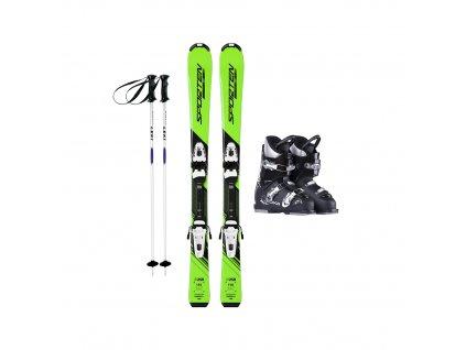 Půjčení lyžařského kompletu s lyžemi 100-120 cm 1