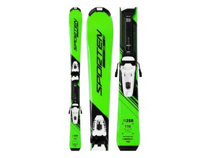 Půjčení lyžařského kompletu s lyžemi 100-120 cm 2