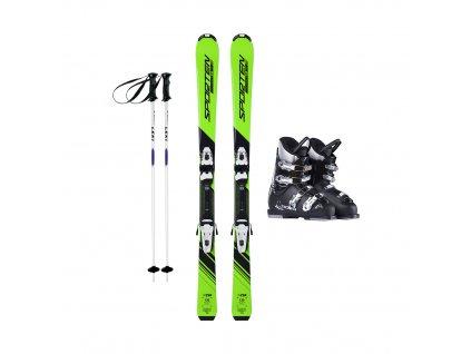 Půjčení lyžařského kompletu s lyžemi 130-140 cm 1