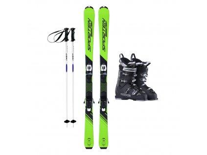 Půjčení lyžařského kompletu s lyžemi 148-168 cm 1