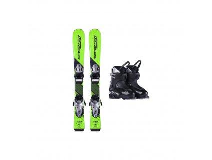 Půjčení lyžařského kompletu s lyžemi 70-90 cm  1