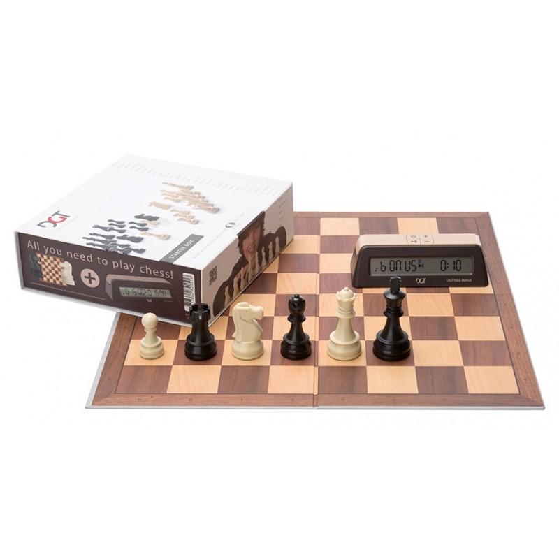 DGT chess set, chess pieces
