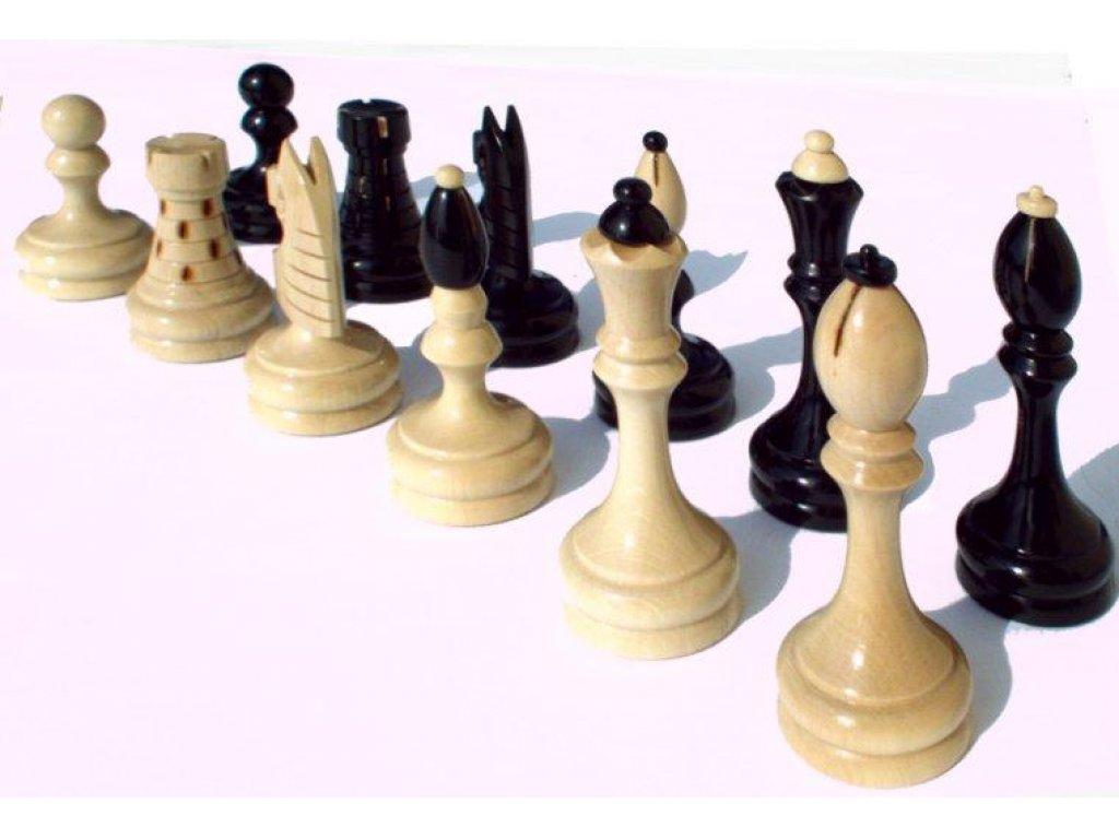 Česká klubovka originál - šachové figurky (bez šachovnice) - momentálně vyprodáno