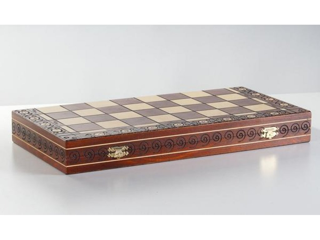 Šachová souprava Ambasador - originál Wegiel