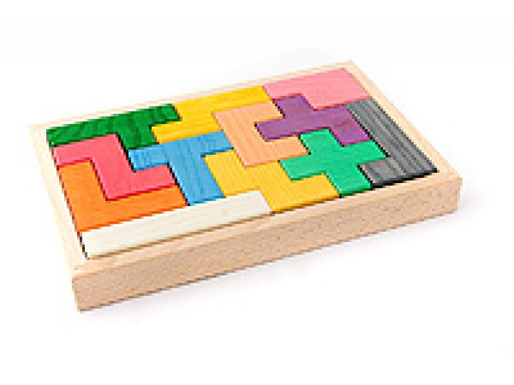 Dřevěné hračky - Pentomimo