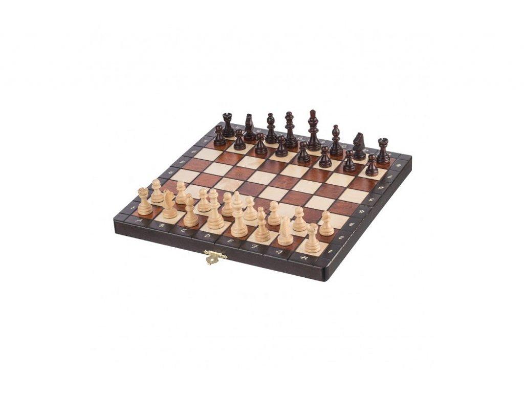 Střední magnetické dřevěné šachy