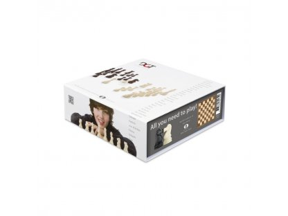 ŠACHOVÁ SOUPRAVA - DGT Chess Box Grey