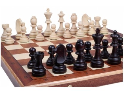 Wooden chess set - size 7