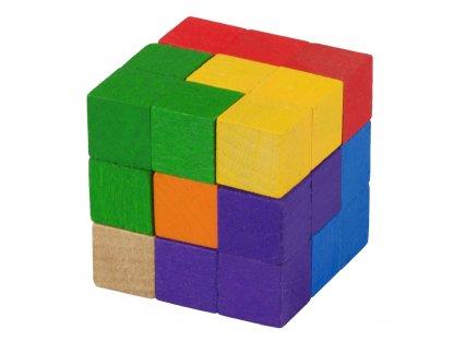 Dřevěné hračky - Dřevěný hlavolam SOMA