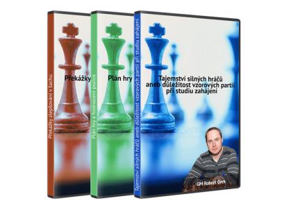 Komplet 1. Plán hry a hodnocení pozice 2. Překážky zlepšování v šachu 3. Tajemství silných hráčů ...( videa ke stažení)