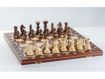 Originál Ambassador - Luxusní šachová souprava