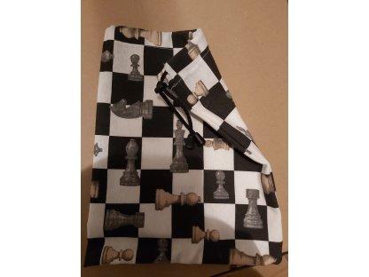 Plátěný sáček na šachové figurky