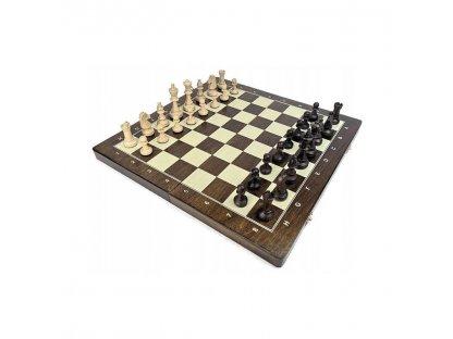 Šachová souprava Tournament 40*40cm tmavá ( velikost 4)