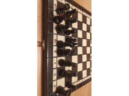 Šachová souprava velikost č. 4 - Tmavá a Pálená