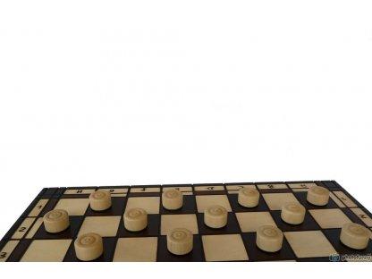 Šachy + Dáma - šachová souprava