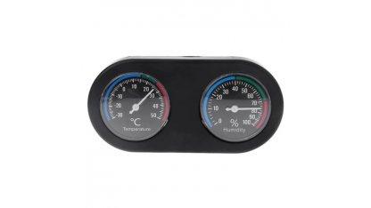 Analog thermometer - hygrometer