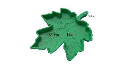 Miska mělká plastová - javorový list