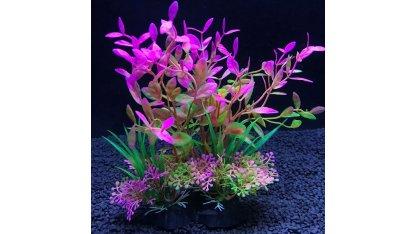 Plastová rostlina - různé typy