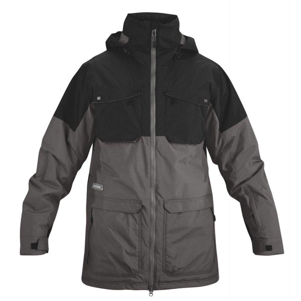 bunda Dakine Mens Force Jacket Black / Charcoal